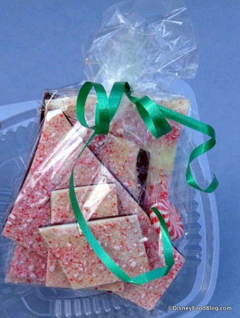 Peppermint Bark from the Sugar and Spice Bake Shop in Epcot's America Pavilion