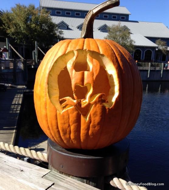 Maleficent pumpkin