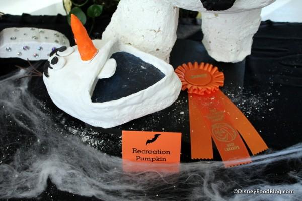 Recreation Team pumpkin
