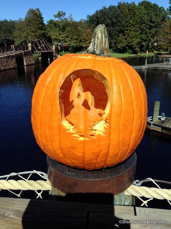 Little Mermaid Pumpkin Carving