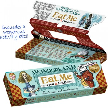 Alice in Wonderland Chocolate Bars
