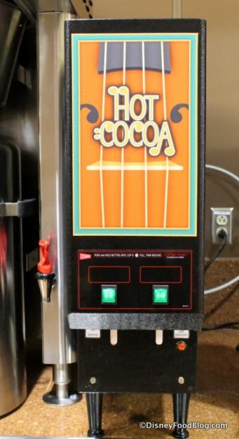 Hot Cocoa Dispenser