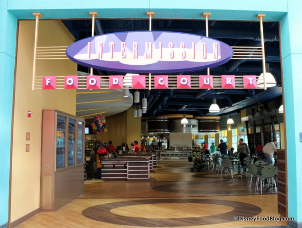 Intermission Food Court Entrance