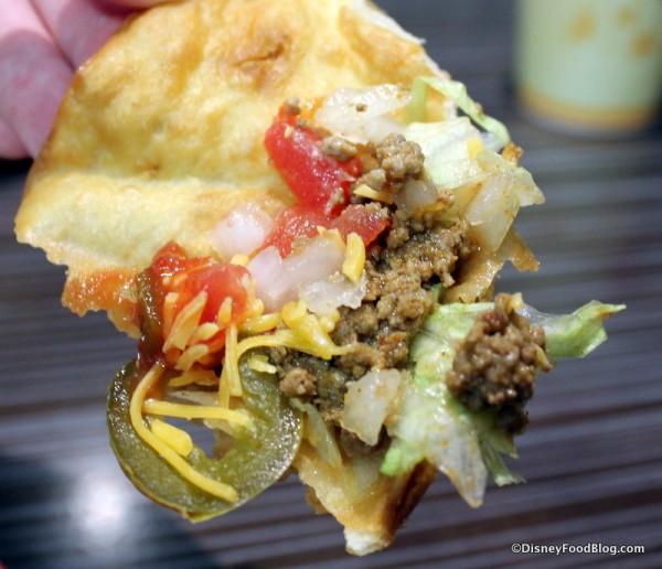 Taco shell DIY nacho