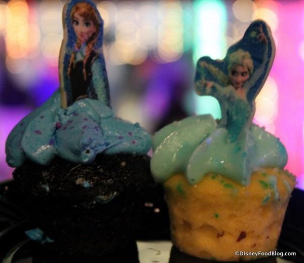 Anna and Elsa Cupcakes!
