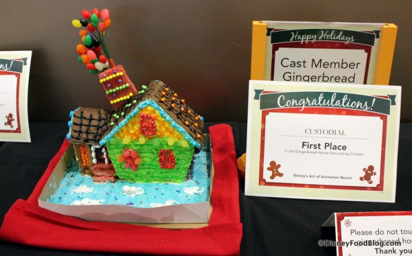 """""""Up"""" Gingerbread House"""