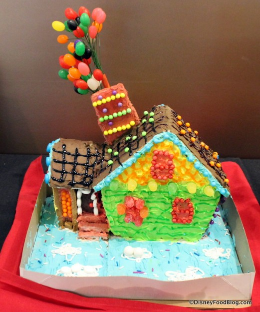 """Up"" Gingerbread House"