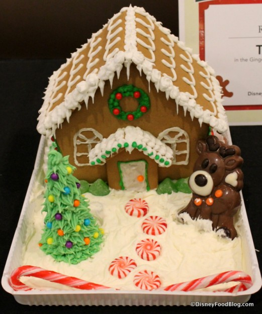 Traditional Gingerbread House