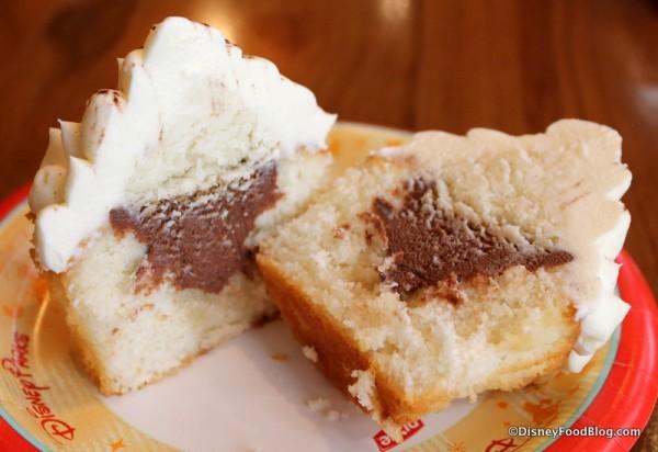 Inside the Tiramisu Cupcake