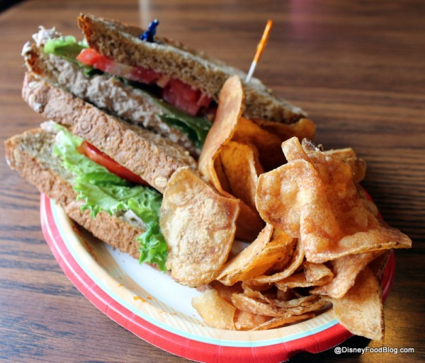 Anchors Aweigh sandwich with chips