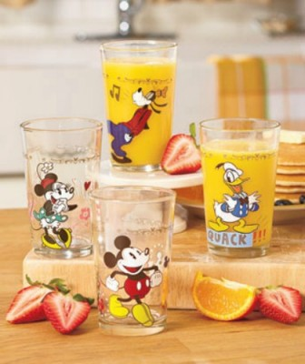 Disney Juice Glasses