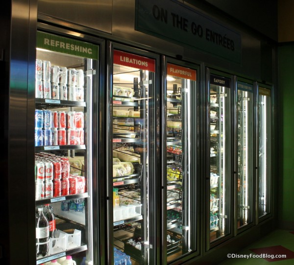 Refrigerated section at Landscape of Flavors