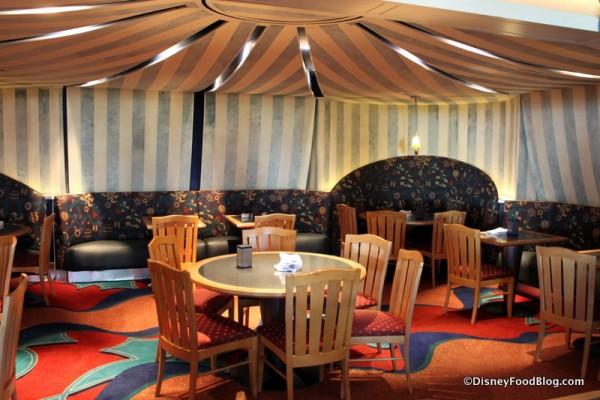 Circus Tent seating