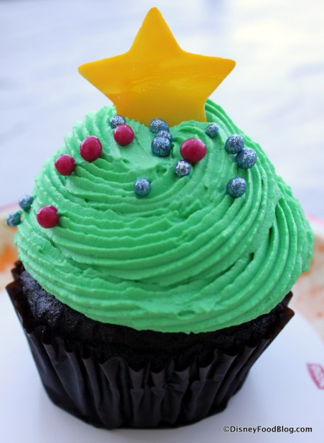 Holiday Cupcake from the BoardWalk Bakery