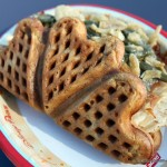 Holiday Snack Series: Savory Turkey Waffle at Promenade Refreshments in Epcot