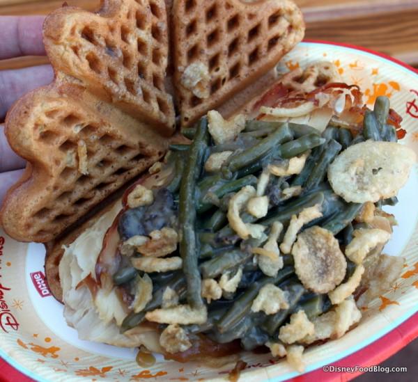 Holiday Waffle -- Inside