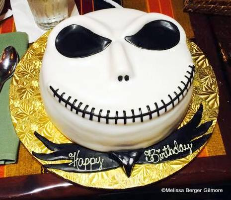 Jack Skellington Cake