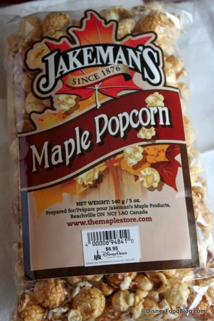 Jakeman's Maple Popcorn