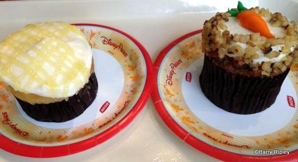 Lemon Cupcake and Carrot Cake Cupcake - Sunshine Seasons