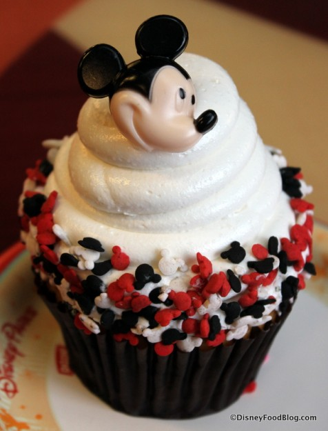 Contempo Cafe's Mickey Cupcake
