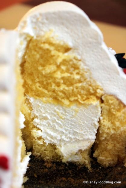 Mickey Cupcake -- Inside