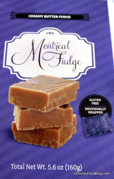 Montreal Fudge Creamy Butter