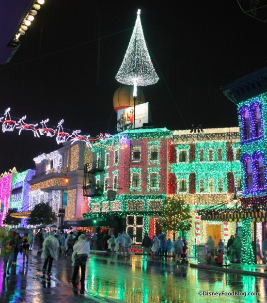 Osborne Lights -- Extra Shiny in the Rain!