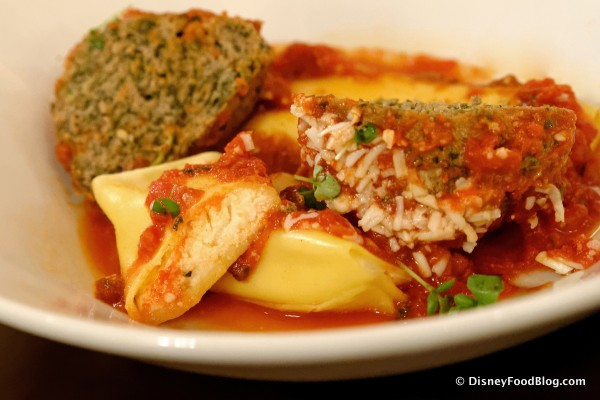Ricotta Cannelloni -- Cross Section
