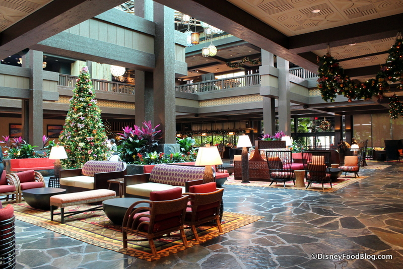 Photo Tour And Review New Polynesian Village Resort Lobby