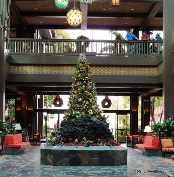 Polynesian Village Resort lobby