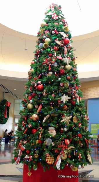 Pop Century Christmas Tree
