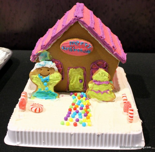Merry Unbirthday Gingerbread House