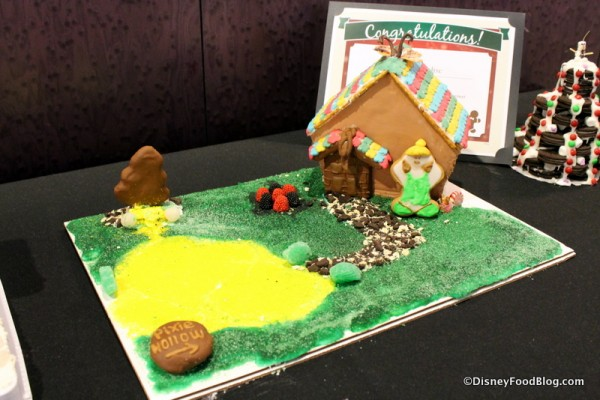 Pixie Hollow Gingerbread House