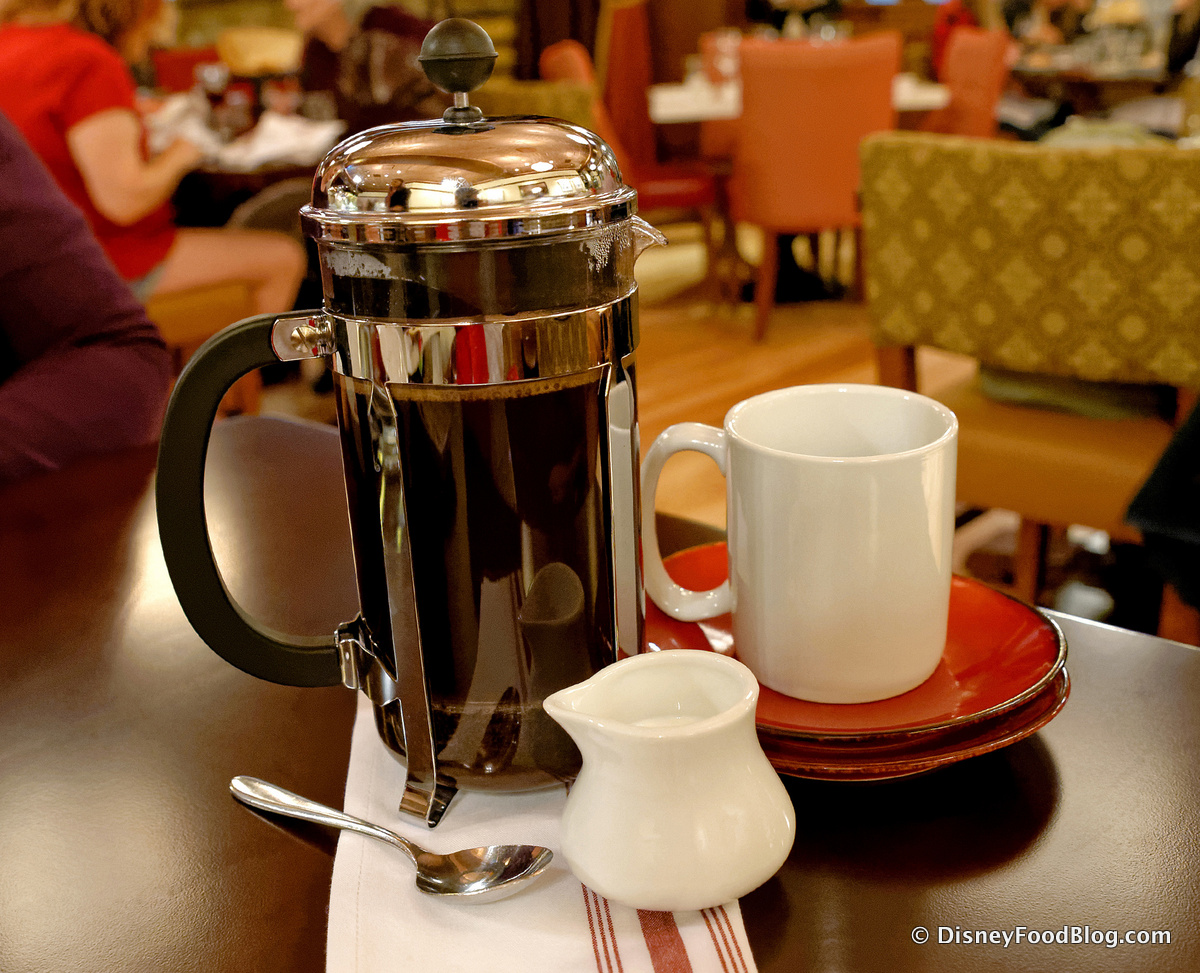What specialty drinks are included on the disney dining plan the press pot of coffee fandeluxe Gallery