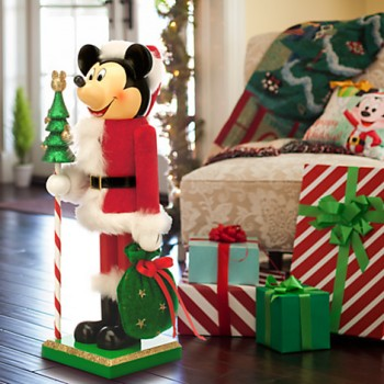 Santa Mickey Nutcracker
