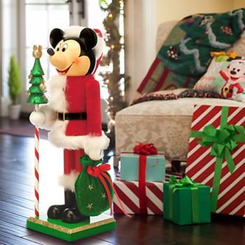 Santa Mickey Nutcracker