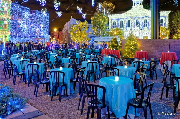 Another View of the Lights and Seating