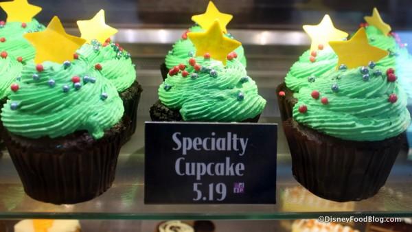Strawberry Cheesecake Holiday Cupcake from Disney's BoardWalk Bakery