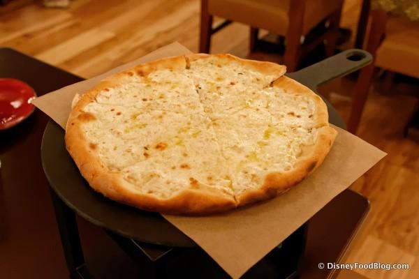 Truffle Cream Pizza