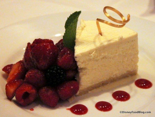 Vanilla Bean Yogurt Cheesecake