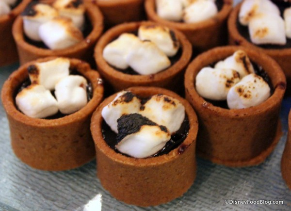 Wandering Oaken's Trading Post and Sauna Double Chocolate S'mores Tart