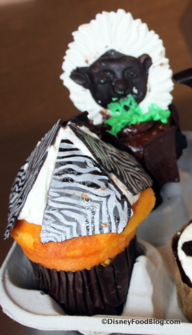 Current Zebra cupcake