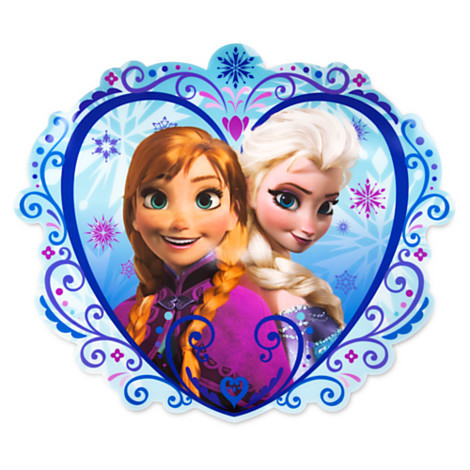 Anna and Elsa Placemat