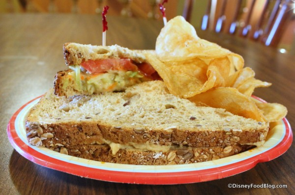 Lighthouse Sandwich at Columbia Harbour House -- simple, but filling