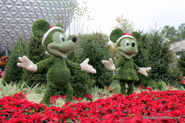 Happy Holidays from EPCOT!