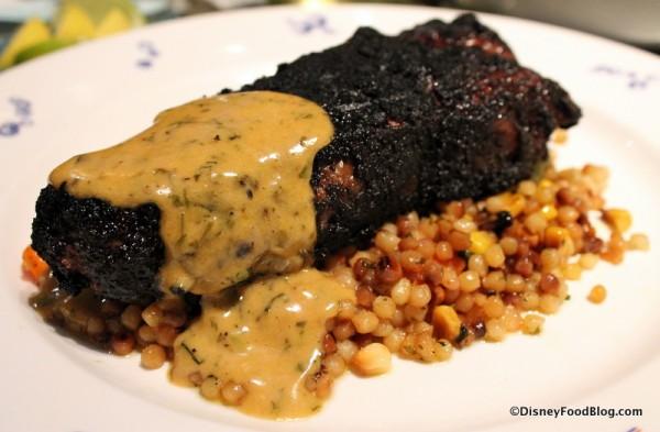 Char-crusted Angus New York Strip Steak