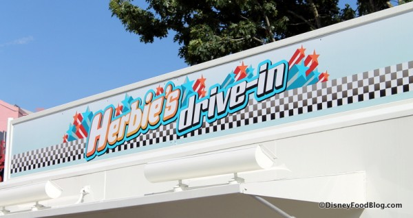 Herbie's Drive-In sign