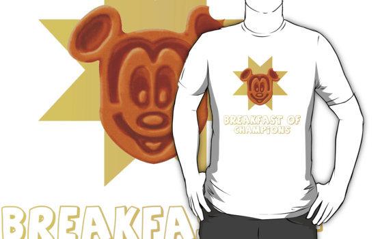 Mickey Waffle tee