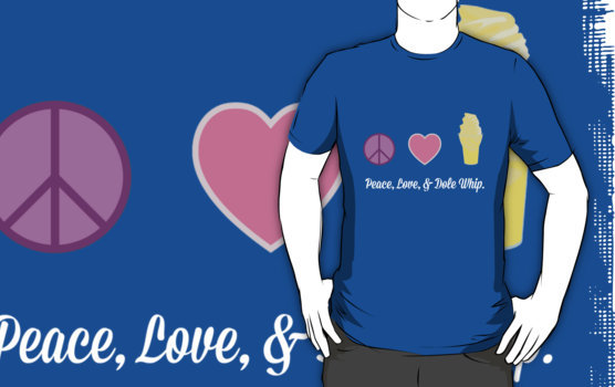 Peace, Love, & Dole Whip tee