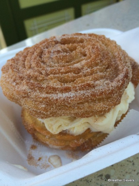 The Churro Ice Cream Sandwich